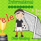 Just in time for the World Cup! A close reading passage about Brazil's own Pele! If you are in school today, why not celebrate!?!?