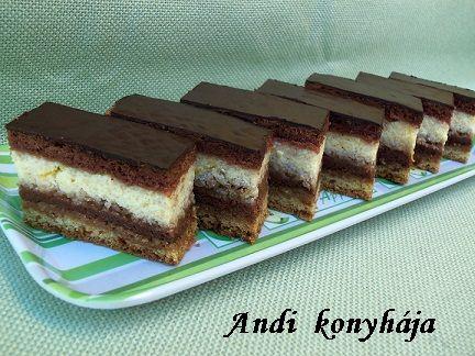 Túrós zserbó - Andi konyhája - Sütemény és ételreceptek képekkel