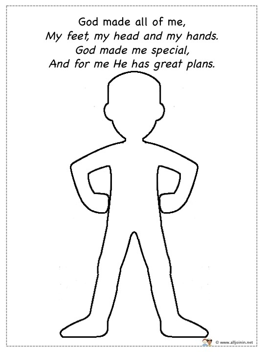 God Made Me Special – Ideas
