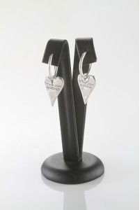 trust your instinct heart earring 54E - by OXXO design