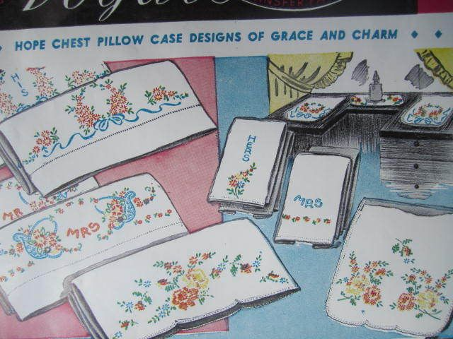 See Sally Sew-Patterns For Less - Flowers Floral Designs Vogart Hot Iron Transfer 135 Embroidery Cross Stitch Designs , $5.99 (http://stores.seesallysew.com/flowers-floral-designs-vogart-hot-iron-transfer-135-embroidery-cross-stitch-designs/)