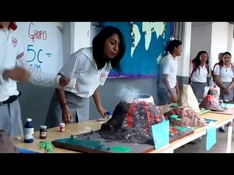 Experimento: Volcán en erupción - YouTube