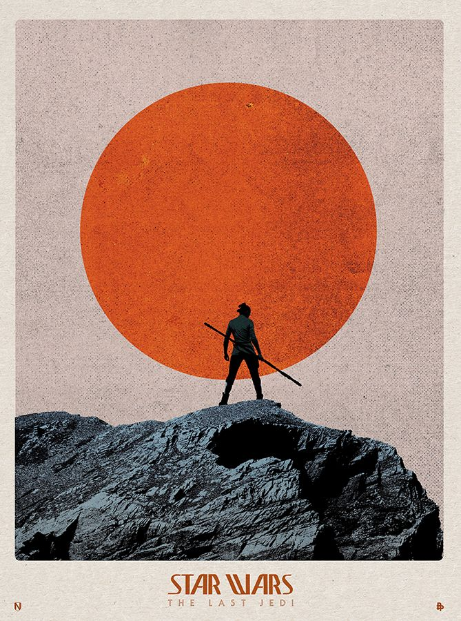 retrowar — pixalry:   Star Wars: The Last Jedi - Created by...