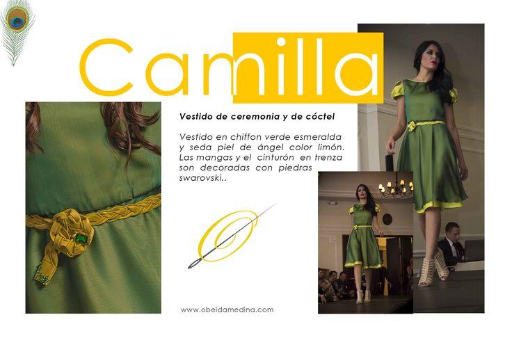 Vestido #CAMILLA #ShowRoom #ObeidaMedina #blogger #moda #fashionblogger #lujo