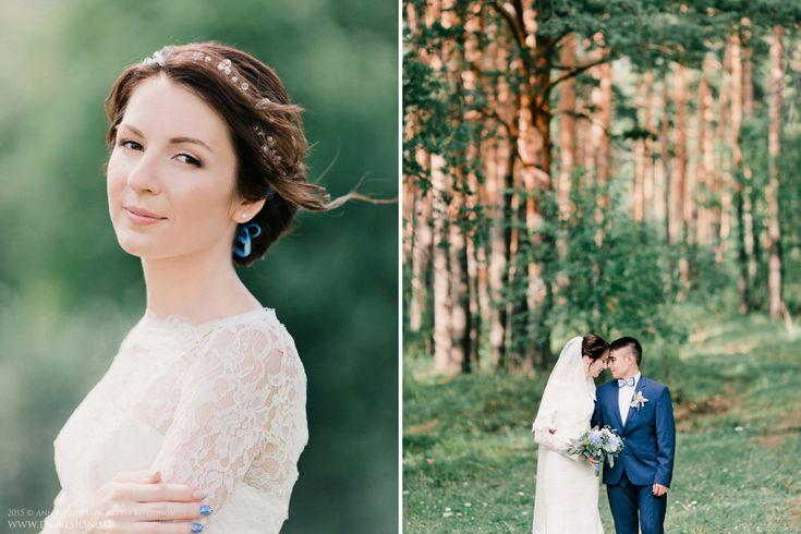 Нежная летняя свадьба за городом. Эдуард и Линара - Свадебные фотографы Анна Козионова и Артем Козионов