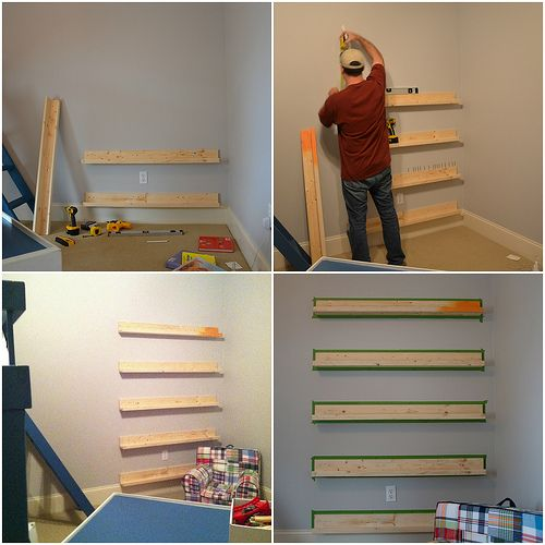Kids Bookshelves By Seeded At The Table Via Flickr