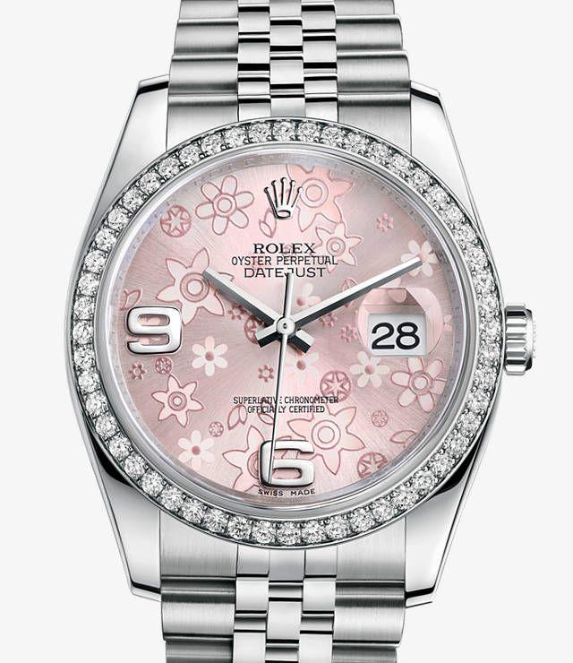 Orologio Rolex Datejust: Rolesor bianco (combinazione di acciaio 904L e oro bianco 18 ct.) – 116244
