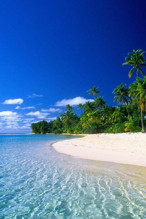 Beach of American Virgin Islands