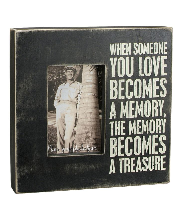 'When Someone You Love' Frame | Daily deals for moms, babies and kids