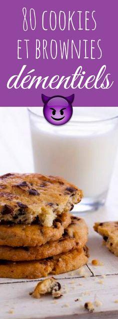 Recettes de cookies et de brownies pour tous les gouts
