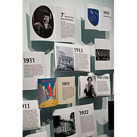love these exhibit graphics
