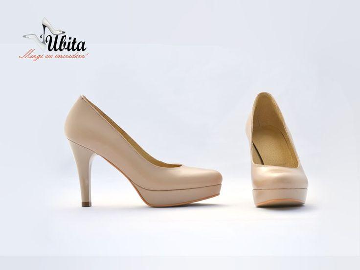 Poze Pantofi dama piele cu platforma