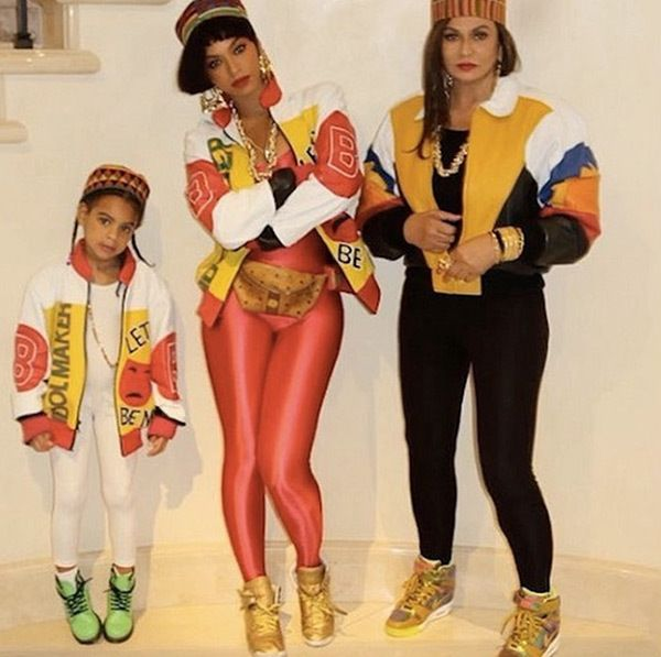 Beyonce, Blue Ivy & Tina Knowles