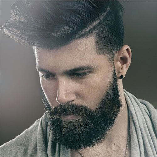 Beard and mustache style