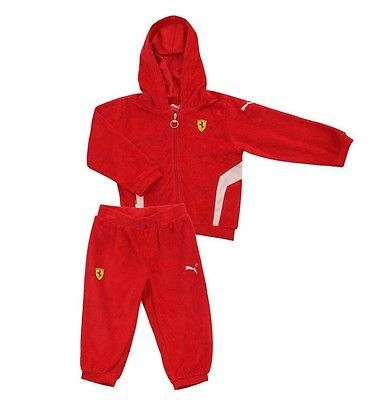 Puma ferrari sf #infant suit #fleece full tracksuit baby children #jogging suit r,  View more on the LINK: 	http://www.zeppy.io/product/gb/2/272346923372/