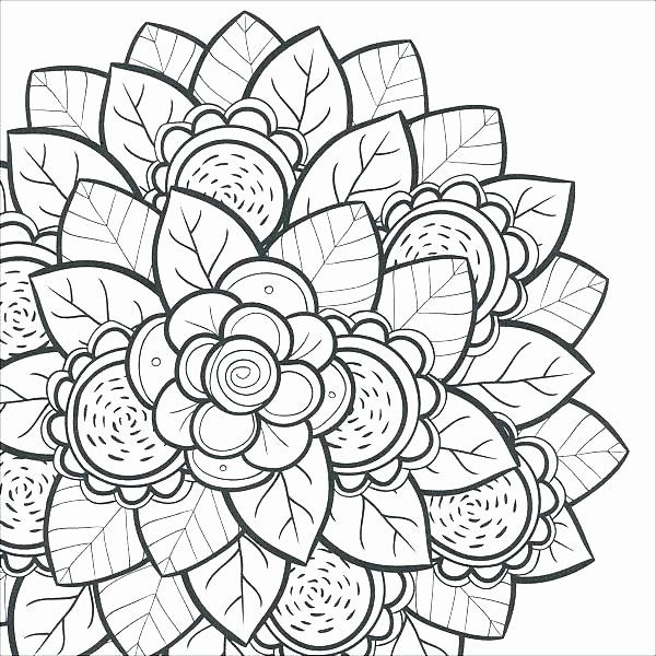 Flowers Coloring Book Pdf New Free Flower Coloring Pages Phresh In 2020 Coloring Pages For Teenagers Mandala Coloring Pages Cool Coloring Pages
