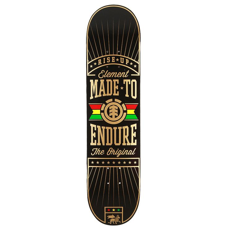 Element Skateboards Element Bright Skateboard Deck 7