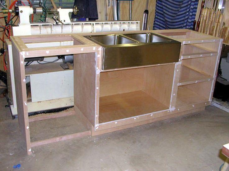 Installing Kitchen Sink Base Cabinet | Base cabinets, Sink ...