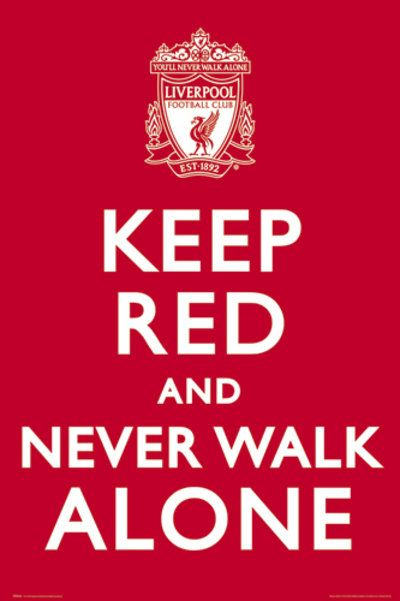 Keep Red & Never Walk Alone.