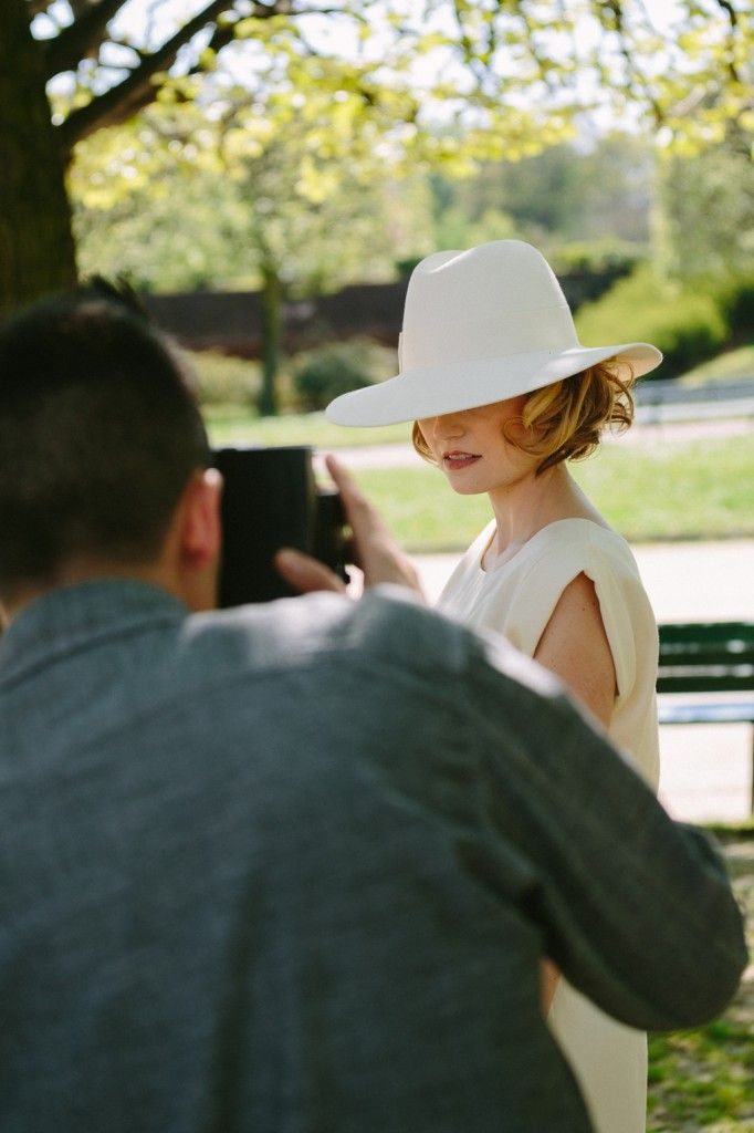 Notre shooting d'ambiance (part 1): la mariée au chapeau  Look by Samia Zahzouh , L'univers de Beaute-prestige    www.beaute-prestige.com