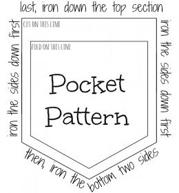 Best 25 pocket pattern ideas on pinterest hipster bag sewing t shirt pocket patch pronofoot35fo Gallery