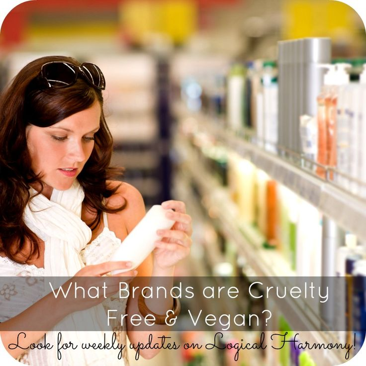 The Cruelty Free & Vegan Brands list on @Tashina Combs is updated weekly! #crueltyfree #vegan #beauty