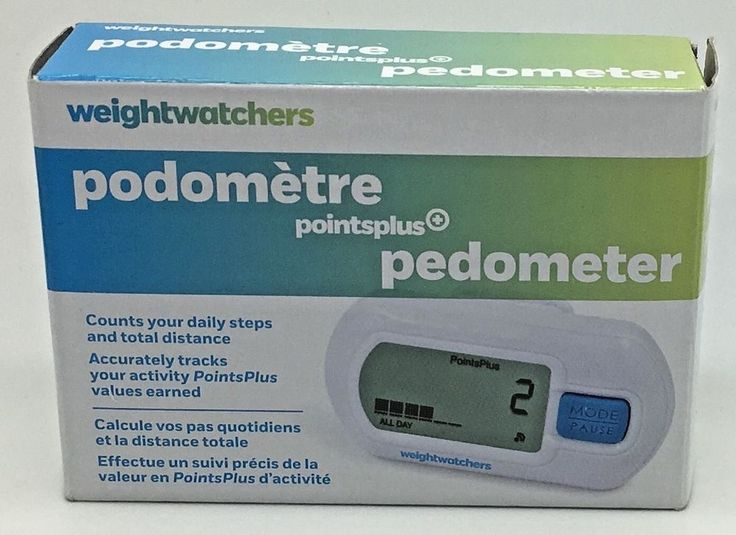 Weight Watchers Points Plus Pedometer NEW in Open Box       #WeightWatchers