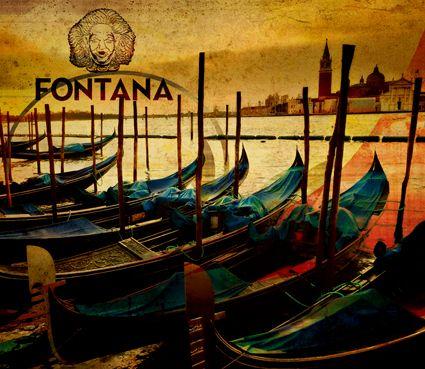 Bar Fontana (Shkoder) . Postera për Muret dhe covers për imazh punuar dhe ideuar nga Hyper dhe Imagine Interior Design.