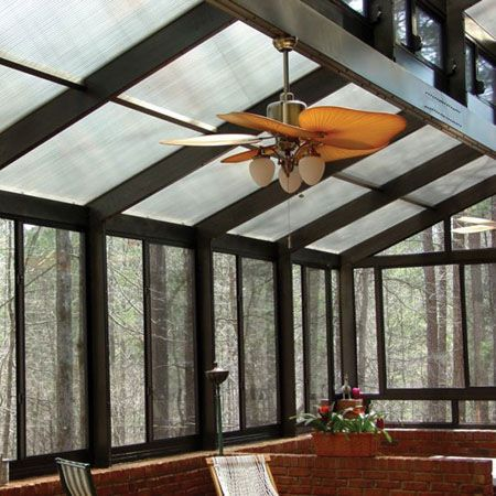 Glass Sunroom Ideas Porches