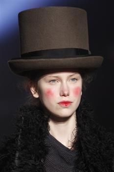 Hat (3a) by Prudence Millinery for Vivienne Westwood Gold Label Autumn Winter 2014 2015 http://viviennewestwood.prudencemillinery.com