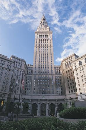Tower City in downtown #Cleveland, Ohio Came from here to go to work each day.  Higbee's was to the left.