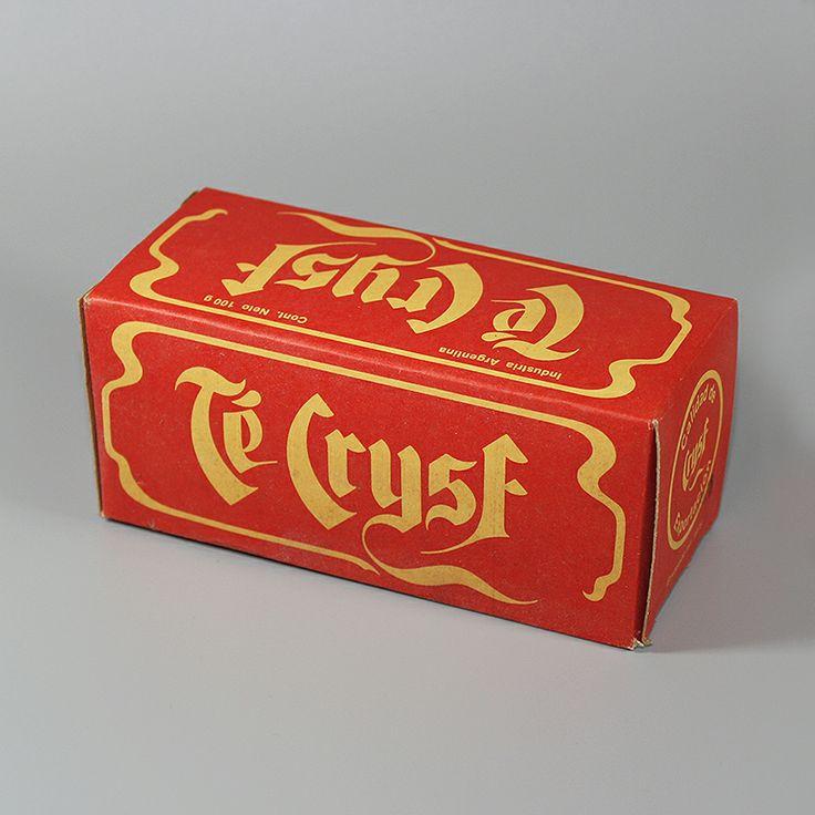 Caja Te Crysf, año 1976