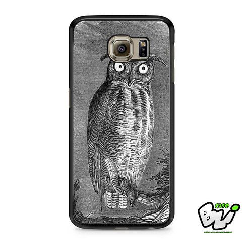 Black And White Bird Samsung Galaxy S6 Case