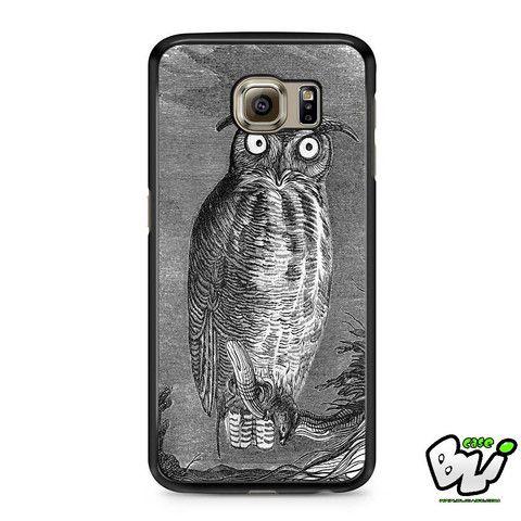 Black And White Bird Samsung Galaxy S6 Case