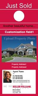 Keller Williams Door Hangers 40 best real estate marketing products images on pinterest