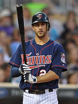 trevor plouffe. the twins might lose alot but they look damn good doing it!