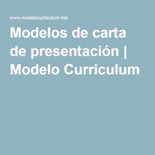 1000+ ideas about Modelo Curriculum on Pinterest   Currículos ...