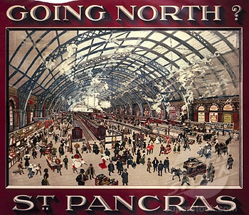 Vintage Railway poster - Plan #yourjourney online at http://ojp.nationalrail.co.uk/service/planjourney/search