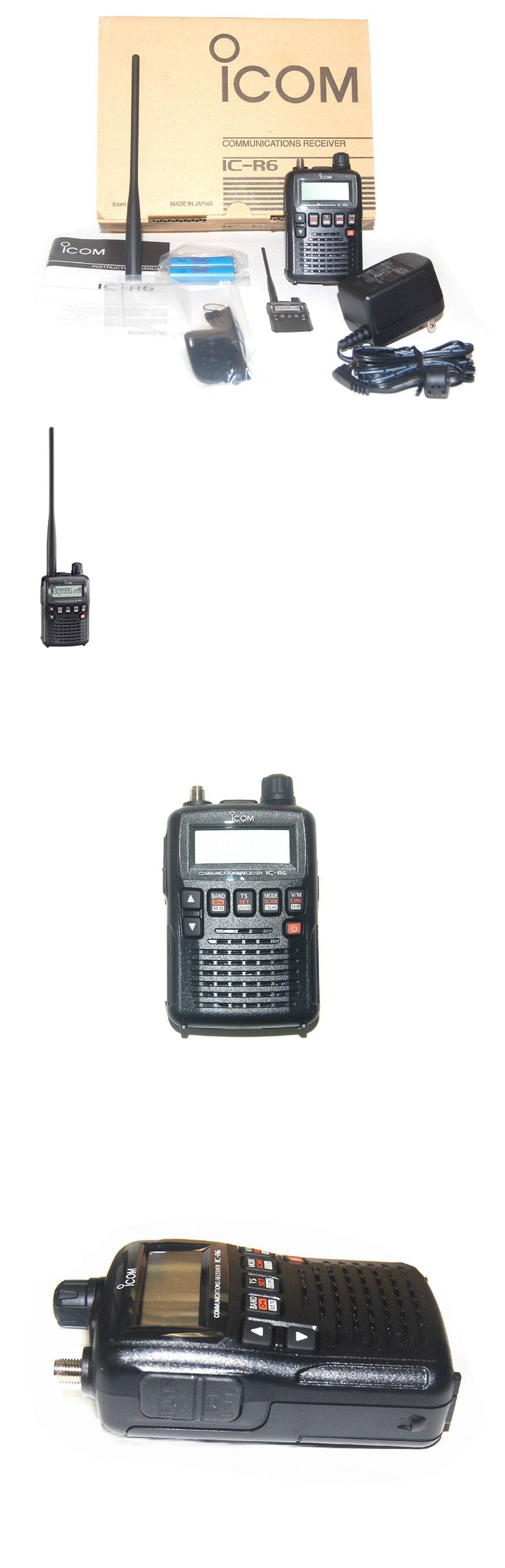 Ham Radio Receivers: New Icom Ic-R6-20 Ipx2 Mil-Std-810 Exp Wide Band Handheld Scanner Receiver Radio BUY IT NOW ONLY: $236.95