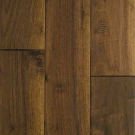 Mullican Flooring Chatelaine 4-in W Prefinished Walnut Hardwood Flooring (Colonial)