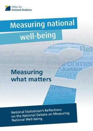National Statistics Wellbeing Report