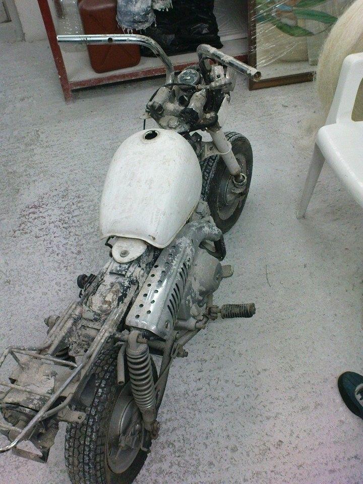 #honda #monkeybike #restoring