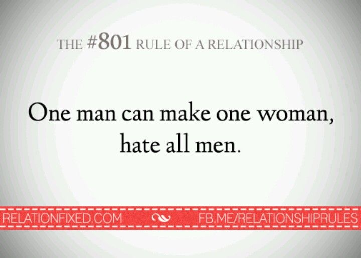 This may be true, but those other men deserve the hate just the same.