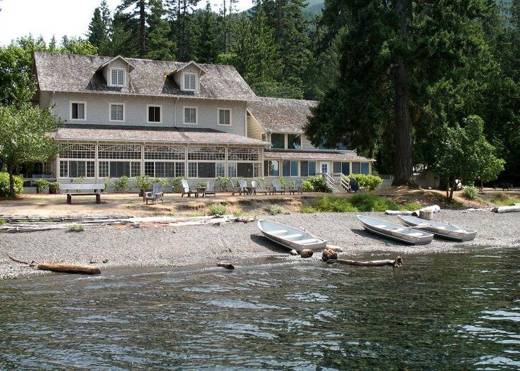 Wedding Venue Lake Crescent Lodge Port Angeles, Washington, Olympic Peninsula www.1047theloop.com