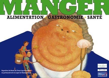 Exposition 2012 : Manger : Alimentation, Gastronomie, Santé / ©Musée du Vivant - AgroParistech
