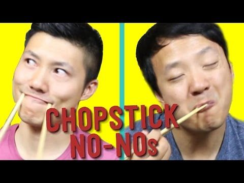 19 Things You Should NEVER Do With Chopsticks! - YouTube