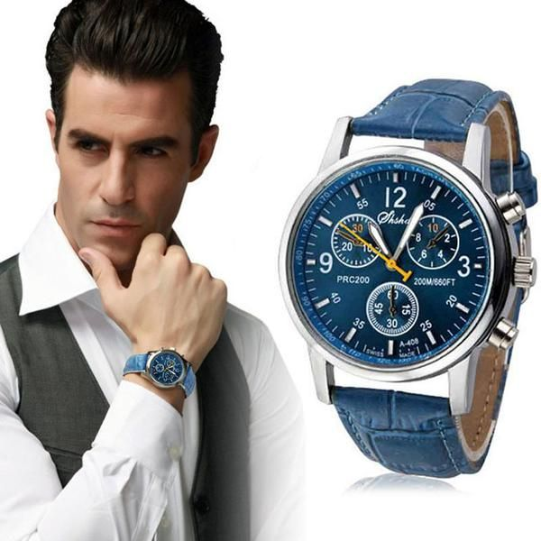 Feitong relogio masculino Luxury PU Leather Watches Men Quartz Watch Military wristwatch for Men Clock relojes hombre 2017