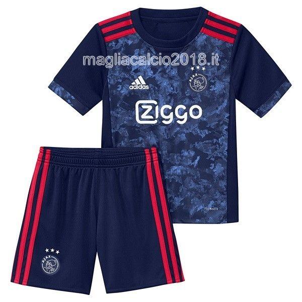 dc83c5c338b83 Away Completo Bambino Maglia Ajax de Amsterdam 2017 2018 ...
