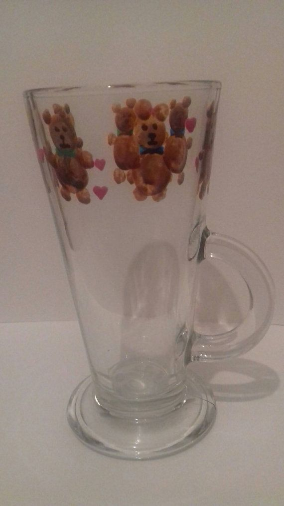 Check out this item in my Etsy shop https://www.etsy.com/uk/listing/502238623/teddy-latte-glass