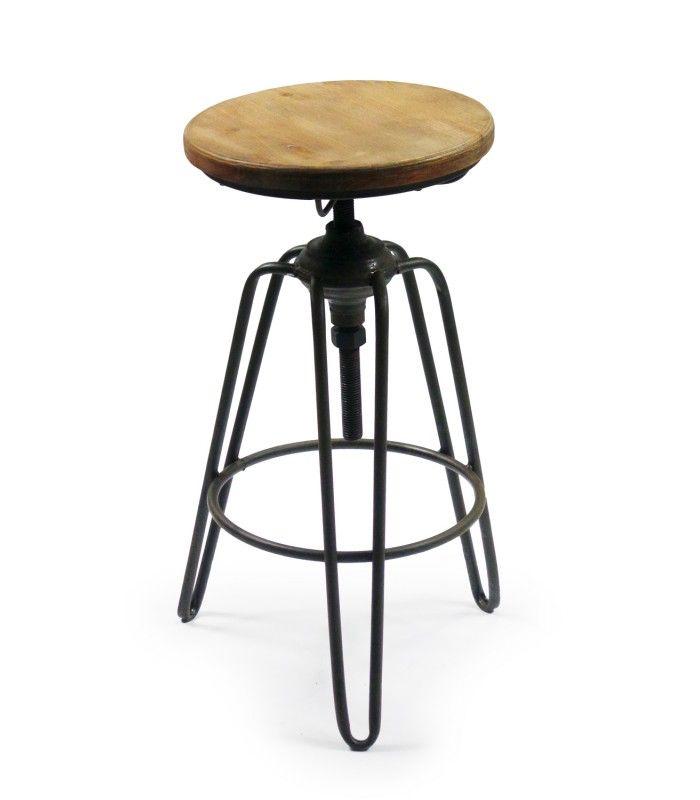 1000 id es propos de tabourets de bar en m tal sur pinterest tabouret en m tal tabourets. Black Bedroom Furniture Sets. Home Design Ideas